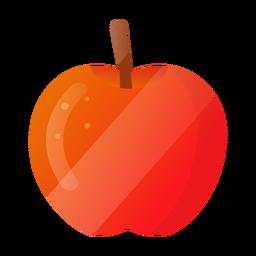 Ilustración de manzana brillante