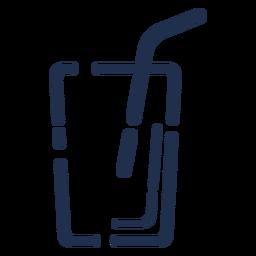 Einfaches Glas-Symbol