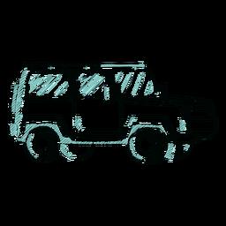 Bosquejo jeep impresionante