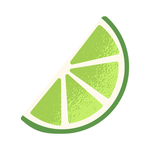 Sliced lemon side