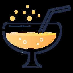Suco de vidro pequeno