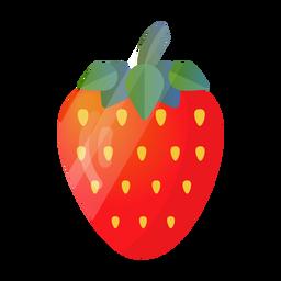 Ilustración linda de fresa
