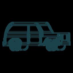 Golpear buen jeep