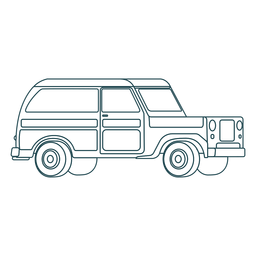 Stroke nice jeep