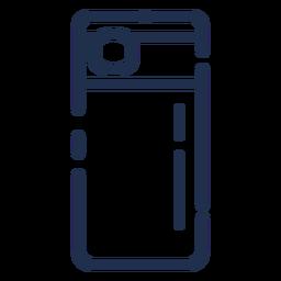 Icono de contenedor alto