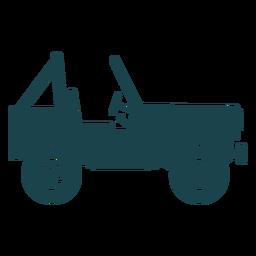 Zweisitzer Jeep
