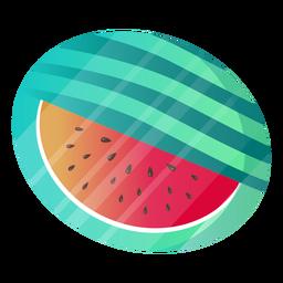 Watermelon opened slice