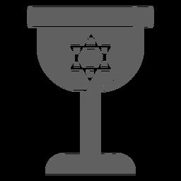 Copo de vinho israel