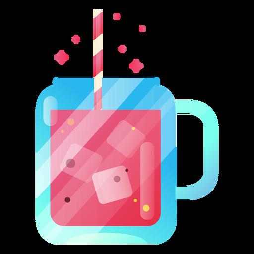Ilustración de delicioso jugo