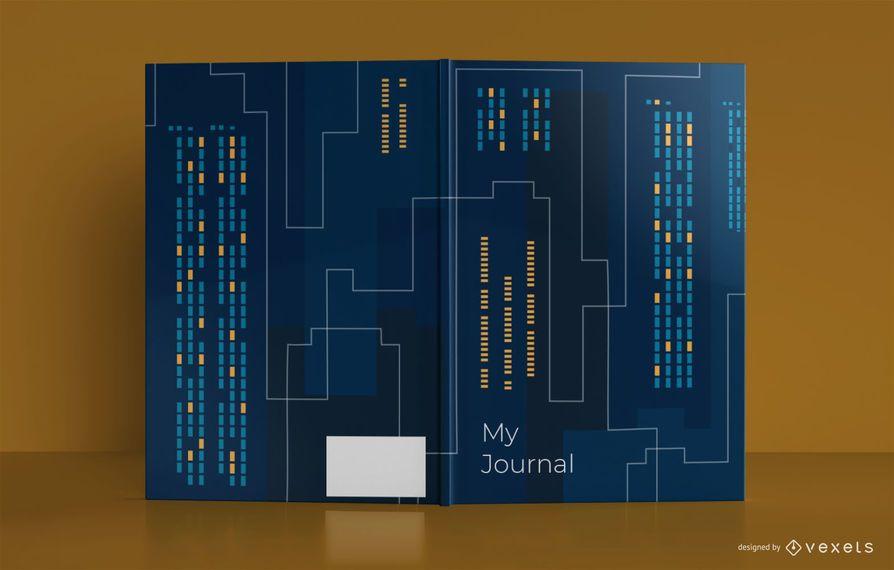 Skyline Journal Book Cover Design
