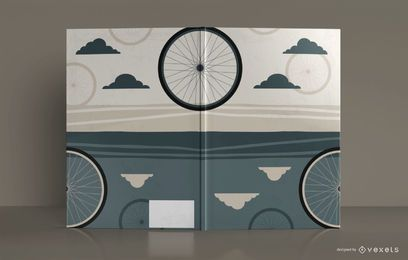 Bicycle Sketchbook Book Cover Design