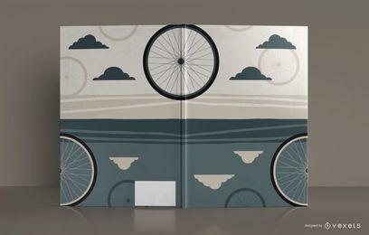 Fahrrad Skizzenbuch Buchumschlag Design