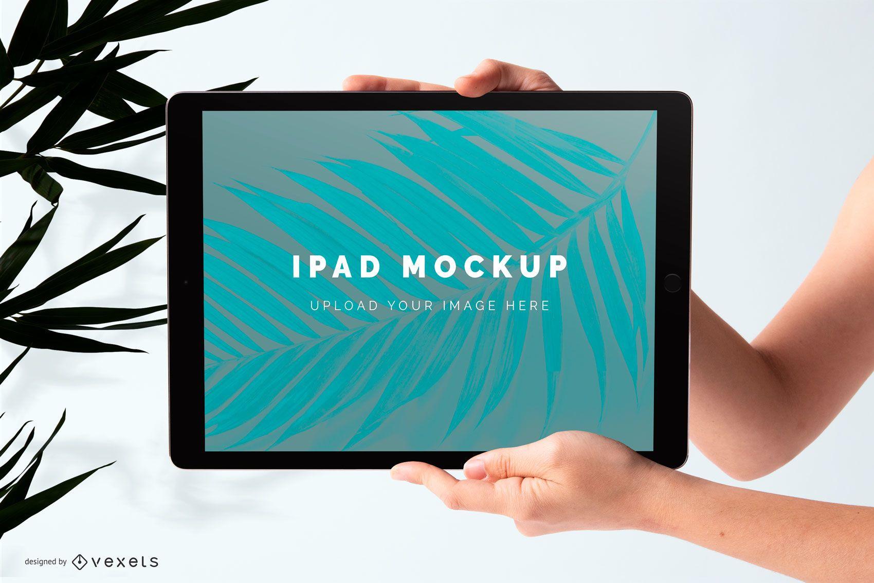 Mockup de iPad psd