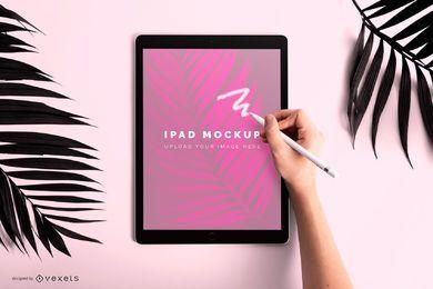 Projeto de maquete de desenho iPad