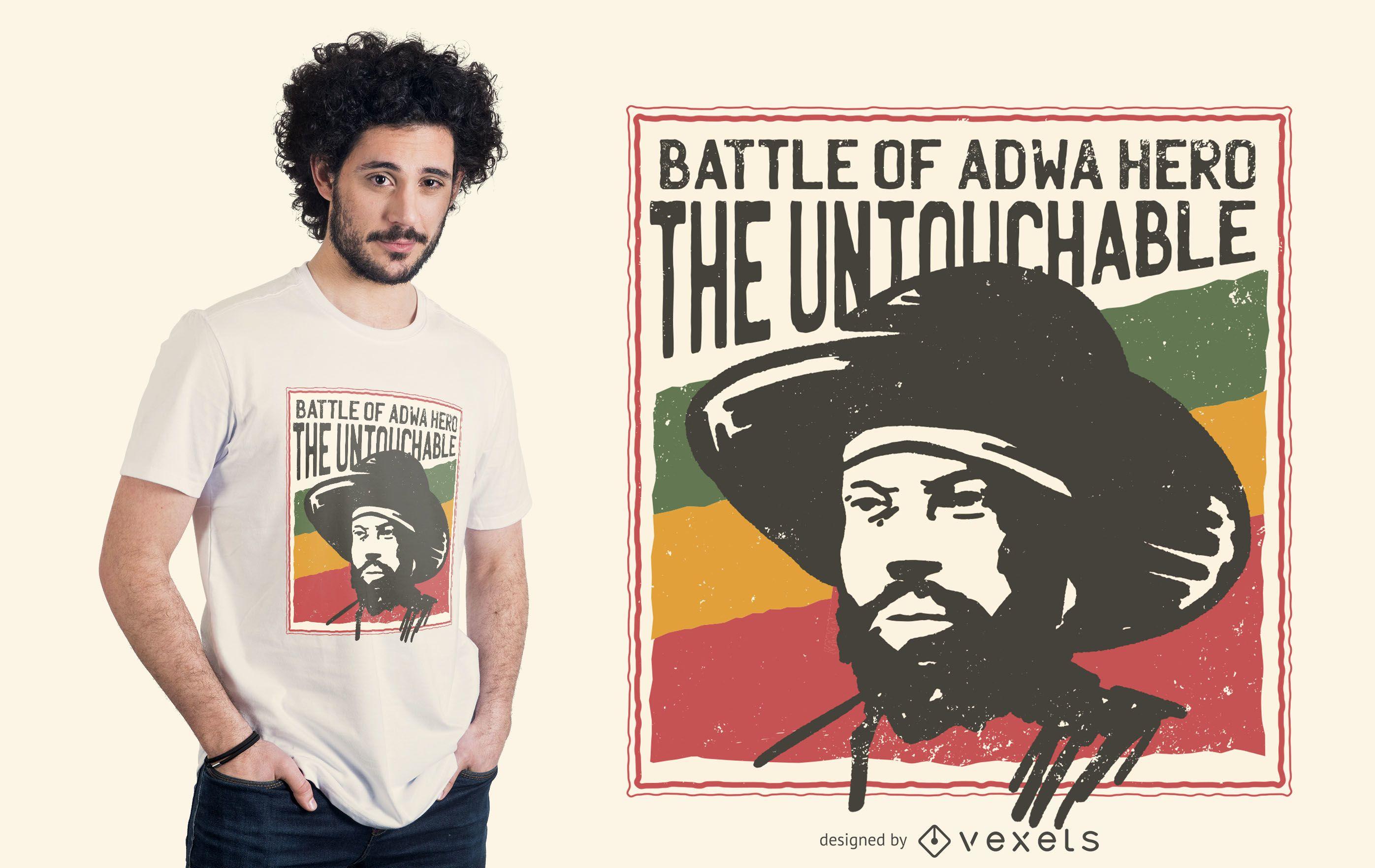 Battle of Adwa T-shirt Design
