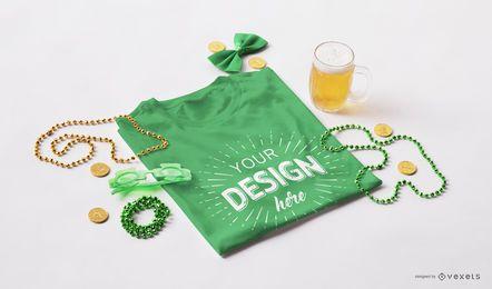 St Patrick T-Shirt-Modell