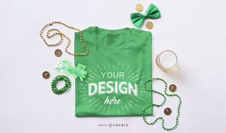 St Patrick's Day T-Shirt Modell
