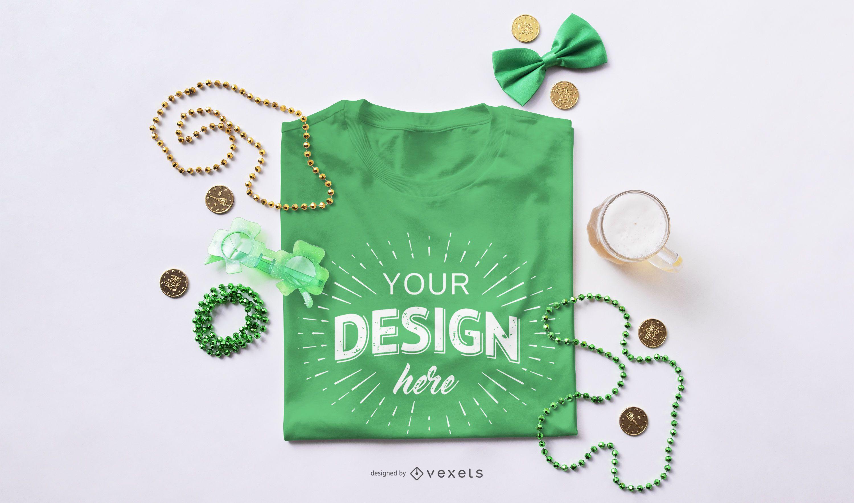 St Patrick's Day T-Shirt Modell