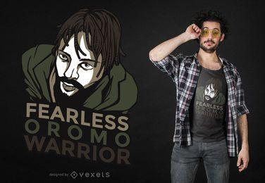 Diseño de camiseta Oromo Warrior
