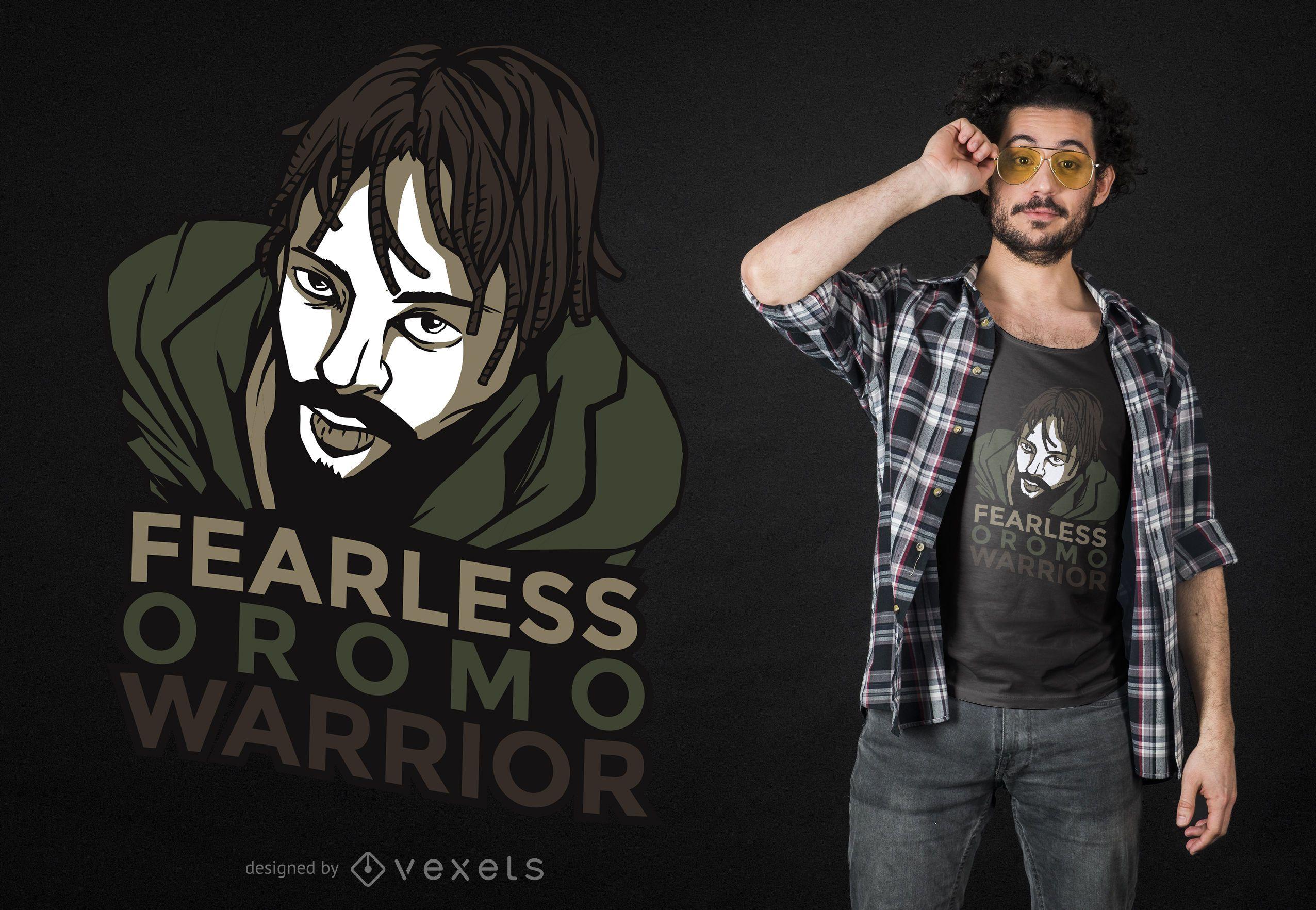 Oromo Warrior T-shirt Design