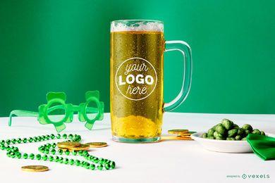 Bierkrug St Patrick Modell