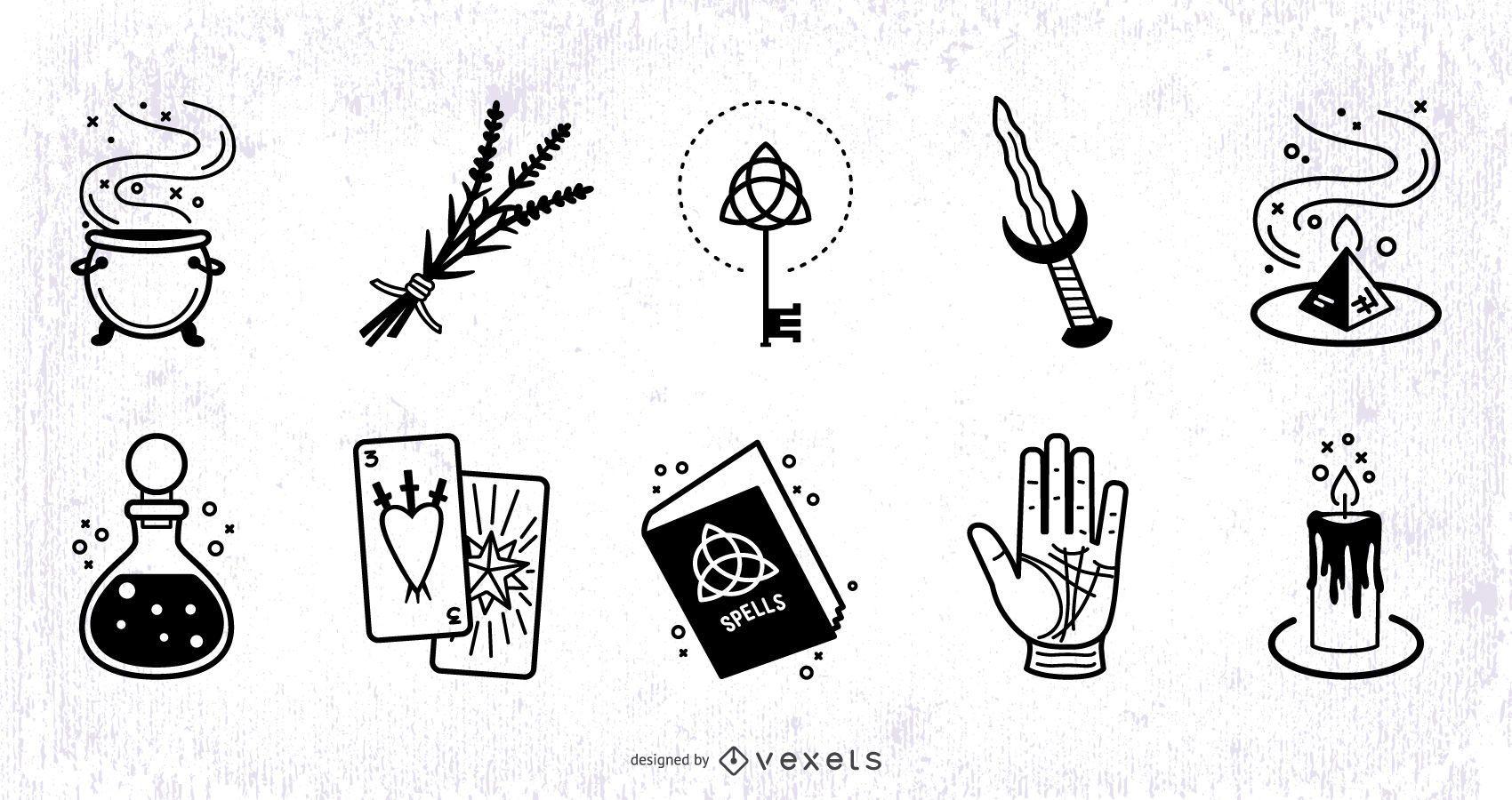 Magic Elements Stroke Design Set