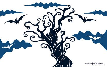 Halloween-Baum