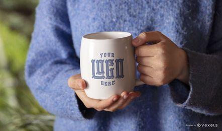 Mug model mockup