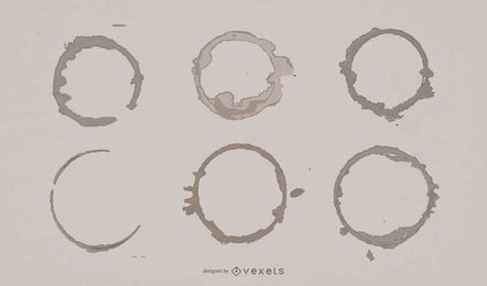 Coffee Ring Shape Pack