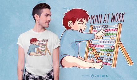 Kind Abacus T-Shirt Design