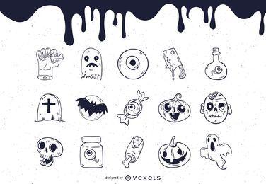 Vetores grátis de Halloween