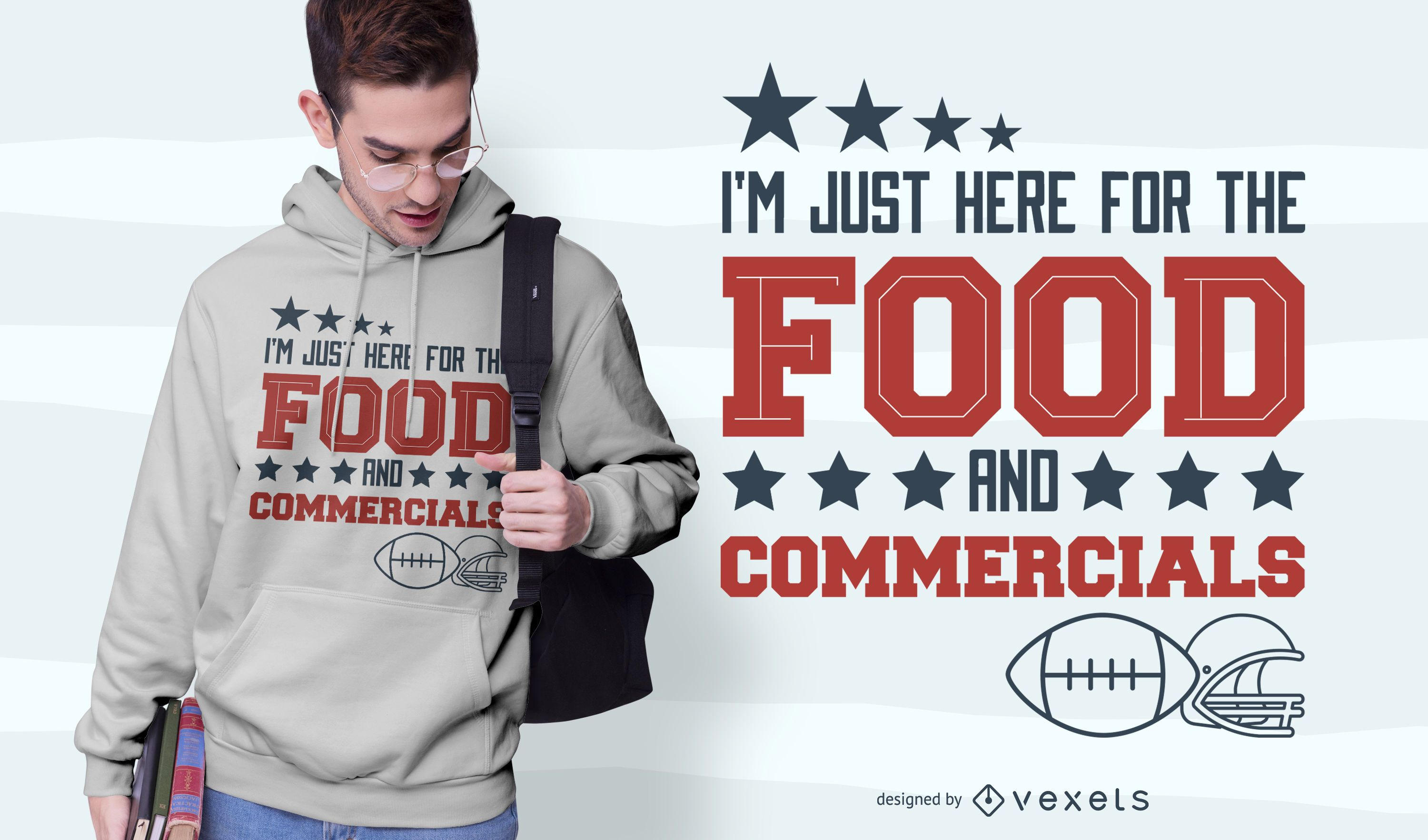 Football Quote T-shirt Design