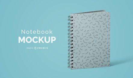 Notebook mockup psd design