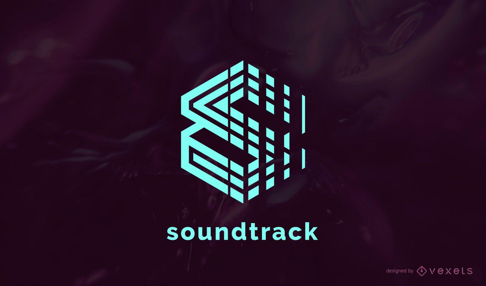 Soundtrack Musik Logo Design