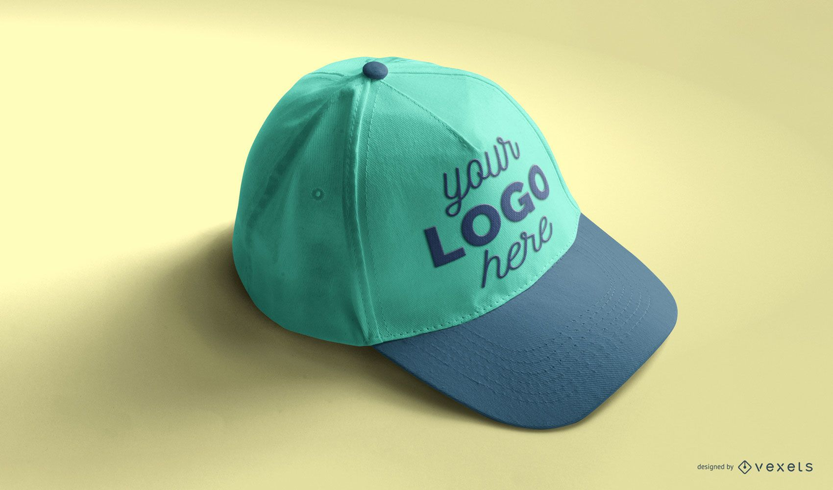 Baseball cap mockup