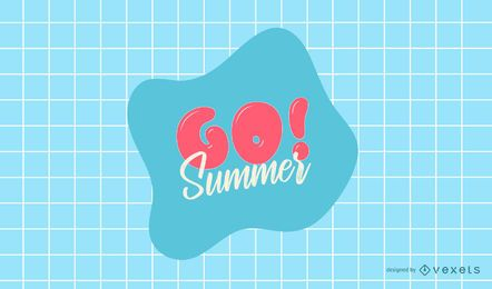 Go Summer Logo Design