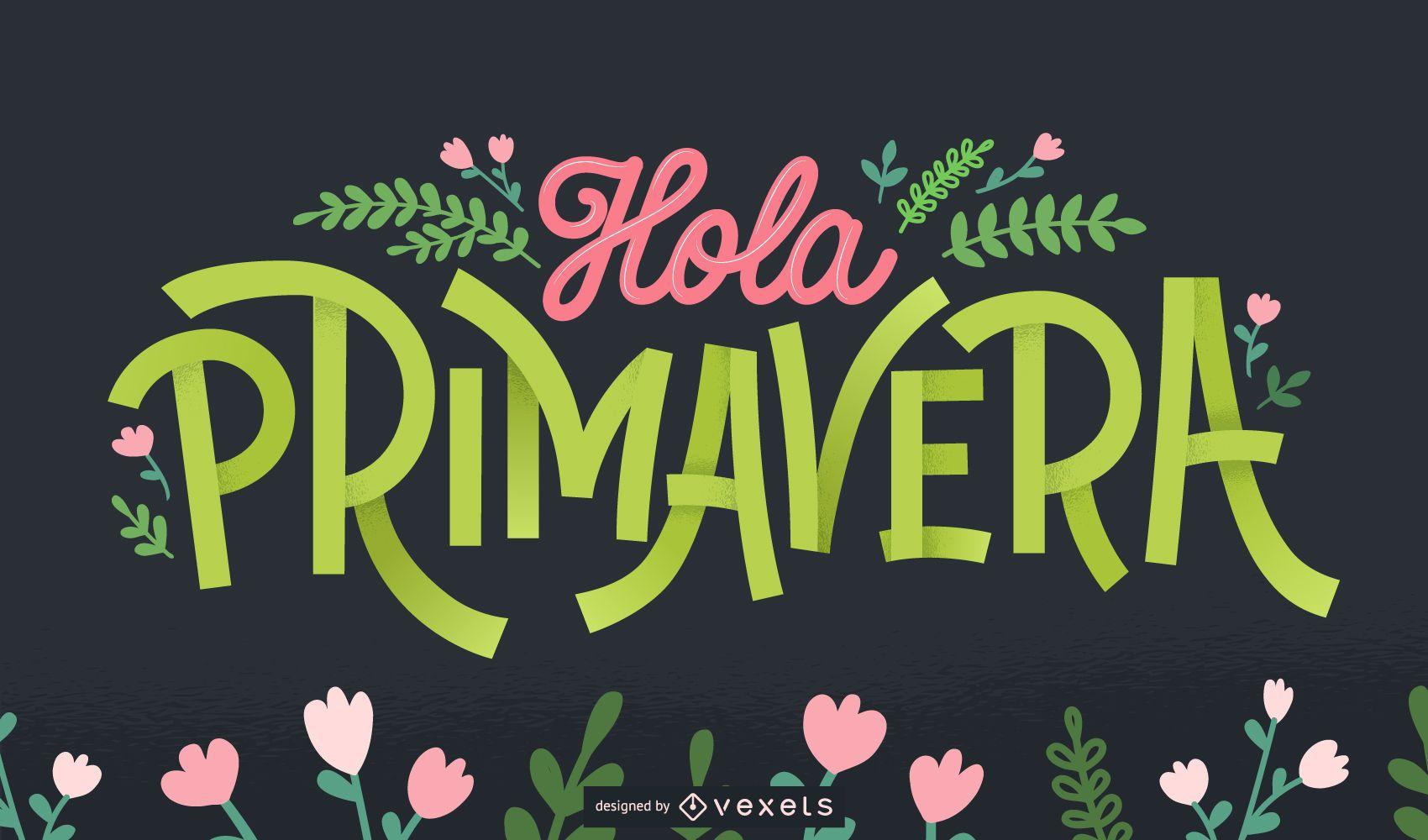 Bienvenido primavera letras en español