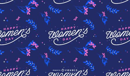 Happy Womens day pattern