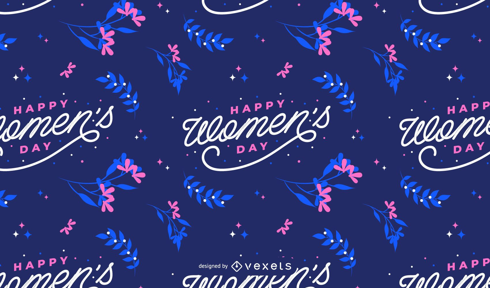 Happy Womens day pattern