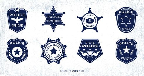 Police Badge Design Pack