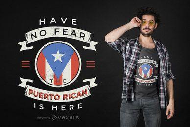 Puerto Rican Zitat T-Shirt Design