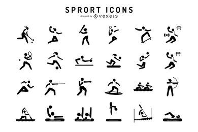 Olympic sports icon set