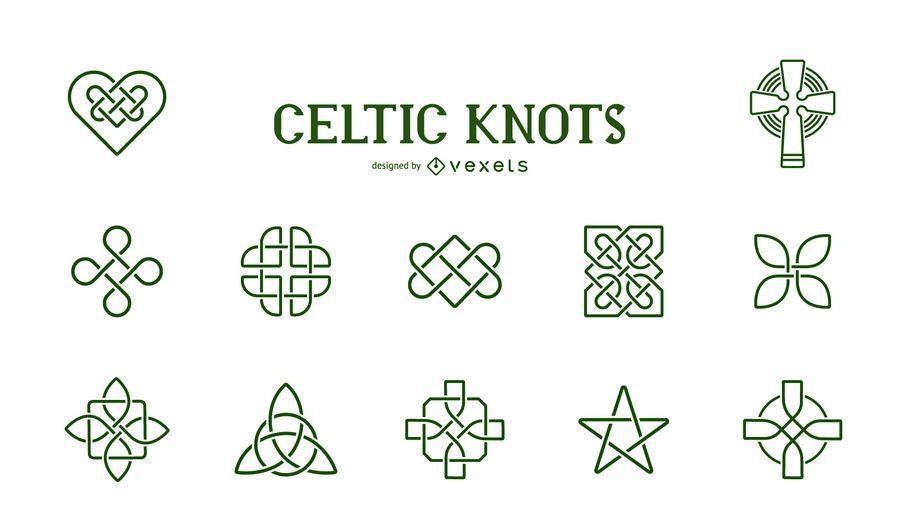 Celtic Knots Symbol Collection