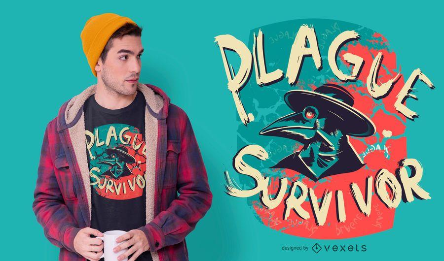Plague Survivor T-shirt Design