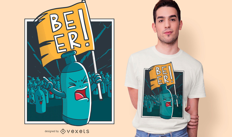 Beer Protest T-shirt Design