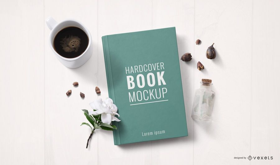Hardcover Book Object Mockup