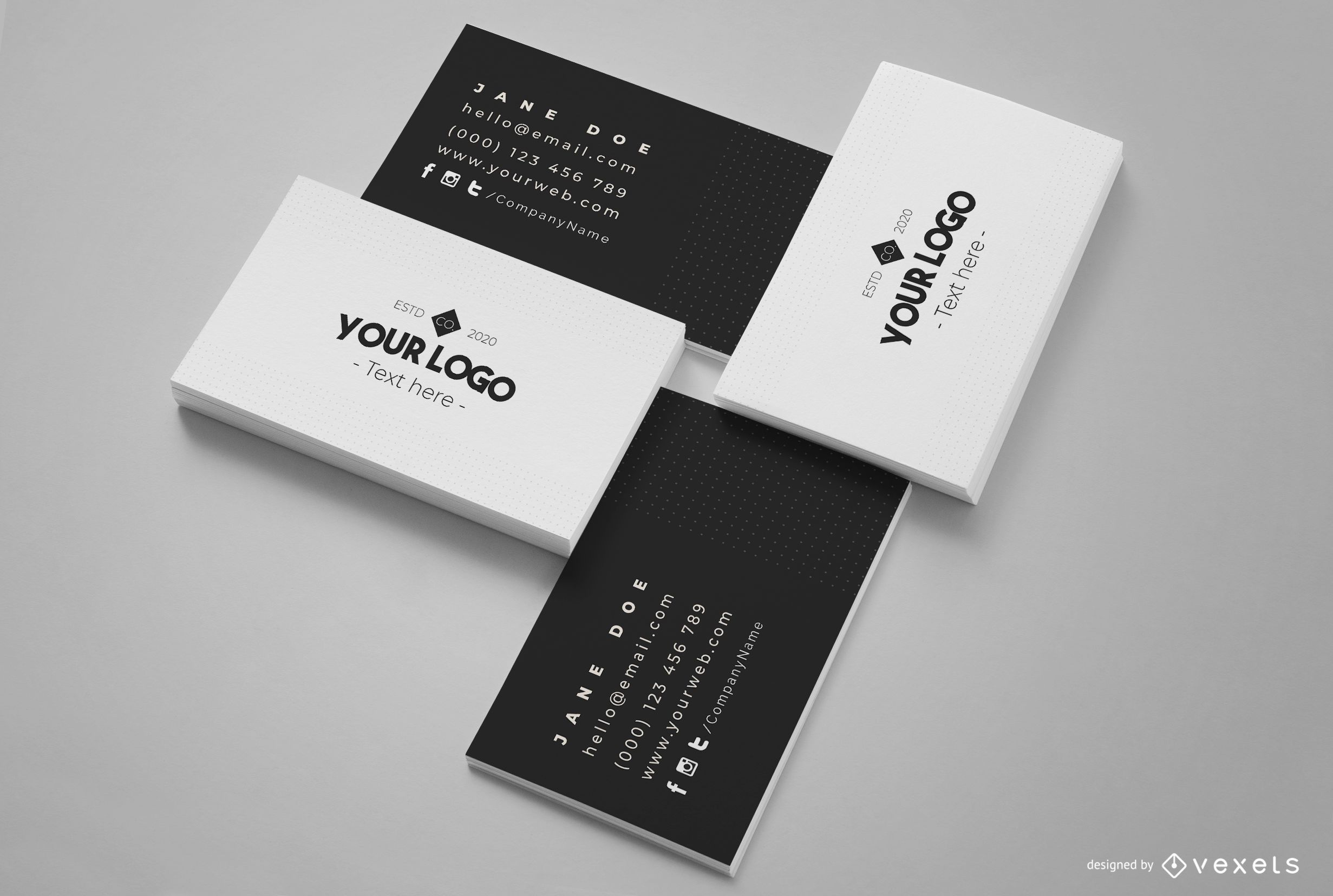 Maqueta de composici?n de tarjeta de visita