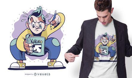Kakuro Puzzle T-shirt Design