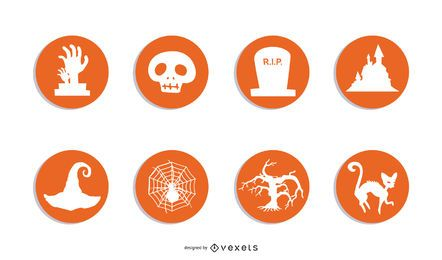 Halloween RSS Icons Set