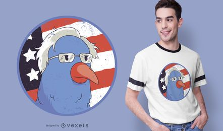 Bernie Sanders Vogel T-Shirt Design
